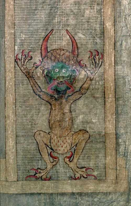 Page from the Gigas Codex