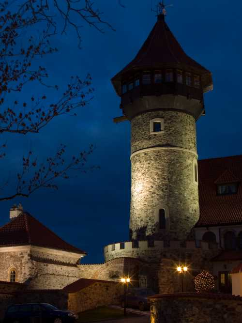 Hnevin Castle in the Czech Republic