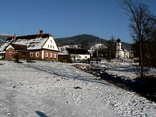 Village of Vernířovice, North Moravia