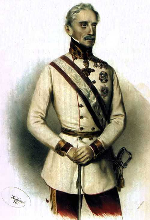 Austrian General Prince of Windisch-Grätz
