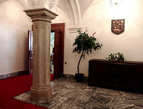 Trutnov Town Hall interior