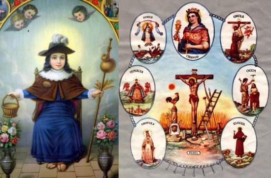 The Infant of Prague is a Santeria icon | Bohemian Magic